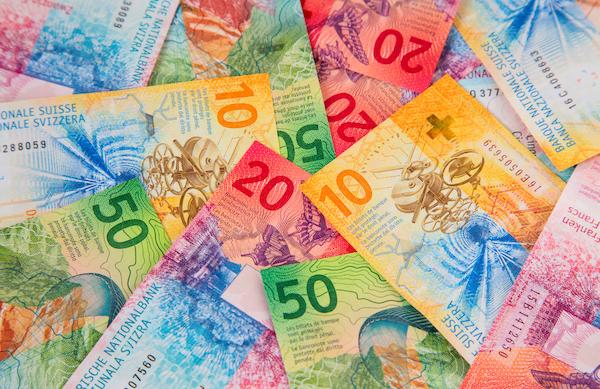 Economie billet de banque suisse